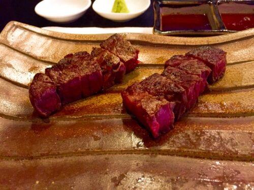 ジアッタテラスクラブタワーズの夕食 龍潭鉄の板焼き