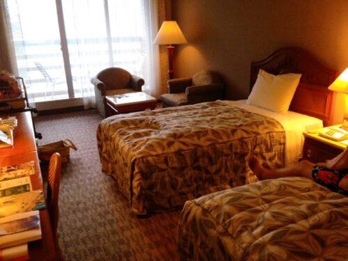 リザンシーパークホテル谷茶ベイのブログ 部屋