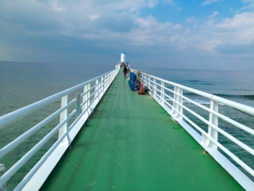 ブセナ海中公園 海中展望塔