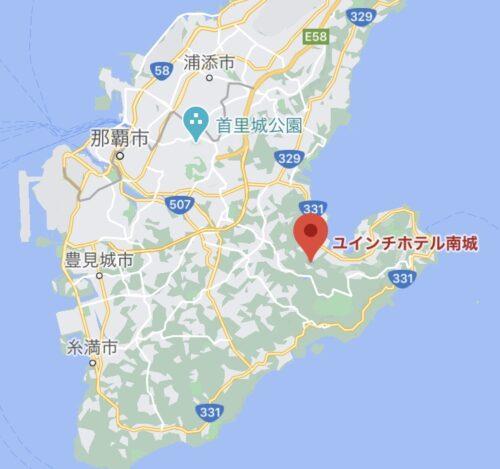 沖縄 温泉があるホテル ユインチホテル南城