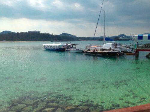 ブセナ海中公園 グラスボート 料金