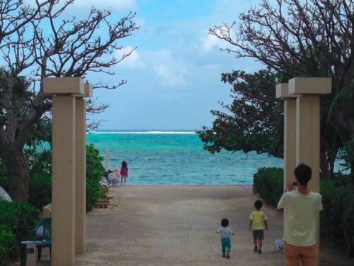 リザンシーパークホテル谷茶ベイのブログ ビーチ