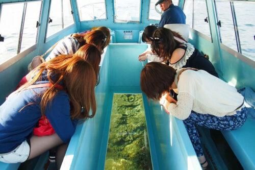 ブセナ海中公園 グラスボート