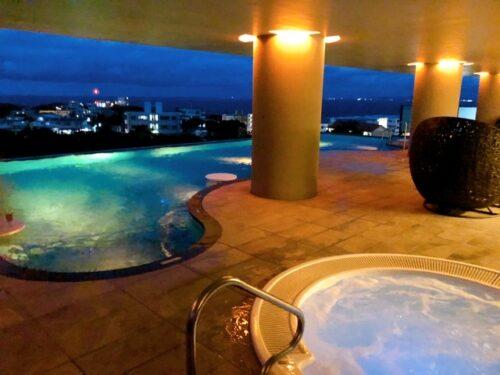 グランディスタイル沖縄の口コミ プール