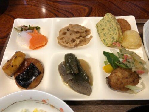定山渓ふる川の朝食(ビュッフェ)
