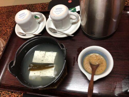 定山渓ふる川の朝食(部屋食)