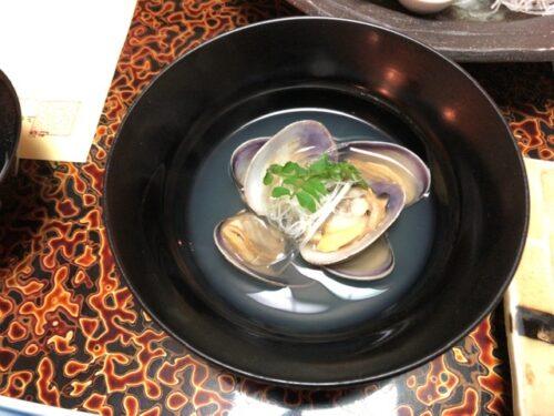 定山渓ふる川の夕食(部屋食)