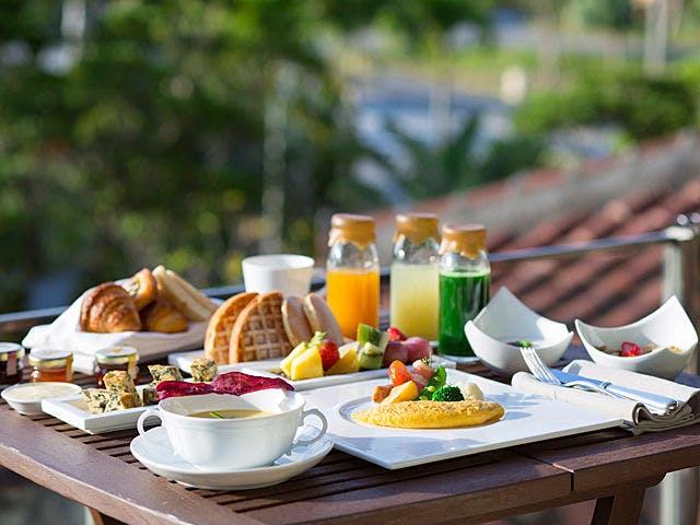 リッツカールトン沖縄 レストラン 朝食