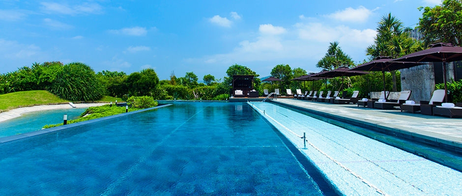 リッツカールトン沖縄 プール